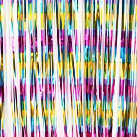 MYLAR CURTAIN – MULTICOLOURED