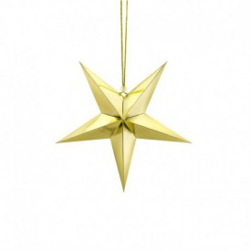 HANGING STAR – GOLD