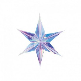 HANGING STAR – IRIDESCENT