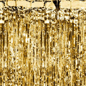 MYLAR CURTAIN – GOLD