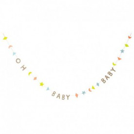 "GARLAND "" OH BABY "" – PASTEL"