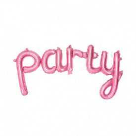 MYLAR FOIL PARTY BALLOON – PINK