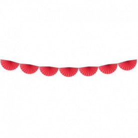 FAN GARLAND – RED