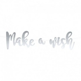 MAKE A WISH GARLAND – SILVER