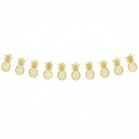 PINEAPPLE GARLAND – GOLD