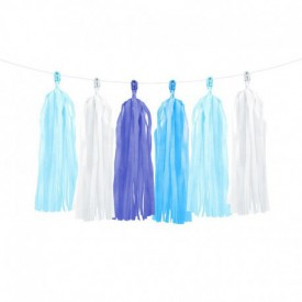 TASSEL GARLAND – BLUE