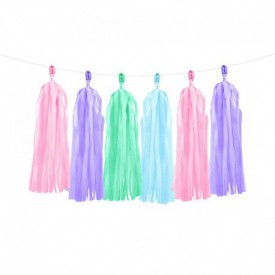 TASSEL GARLAND – FLASHY PASTEL