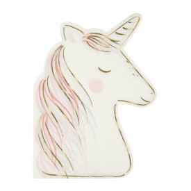 16 SERVIETTES – UNICORN