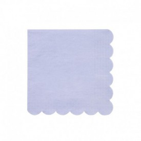 20 SERVIETTES – LIGHT BLUE