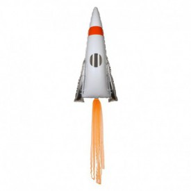 MYLAR FOIL ROCKET BALLOON