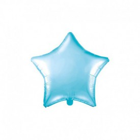 MYLAR FOIL STAR BALLOON – BLUE