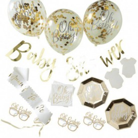 """BABY SHOWER"" BOX – GOLD"
