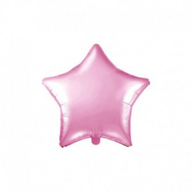 MYLAR FOIL STAR BALLOON – BRIGHT PINK