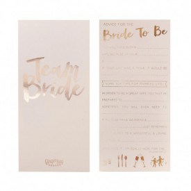 "10 ""BACHELORETTE"" CARDS – ADVICE FOR THE BRIDE"