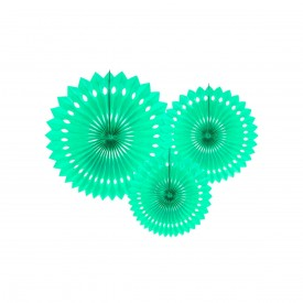 SET OF 3 ROSETTES – MINT