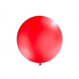 GIANT LATEX BALLOON - RED