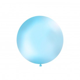 GIANT LATEX BALLOON - LIGHT BLUE