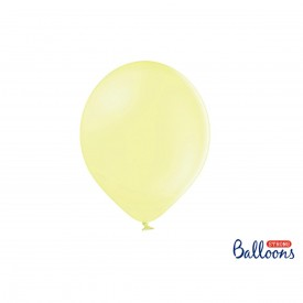 LATEX BALLOON - PASTEL LIGHT YELLOW