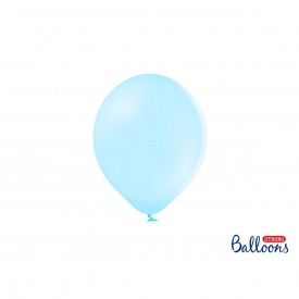 LATEX BALLOON - PASTEL LIGHT BLEU