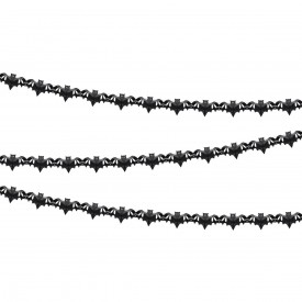 BAT GARLAND - BLACK