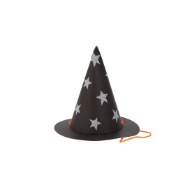 8 MINI WITCH HATS - HALLOWEEN