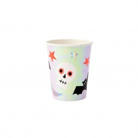 8 HALLOWEEN ICON CUPS - IRIDESCENT