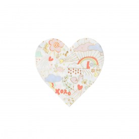 "16 ""LOVE"" PRINTED NAPKINS - PASTEL"