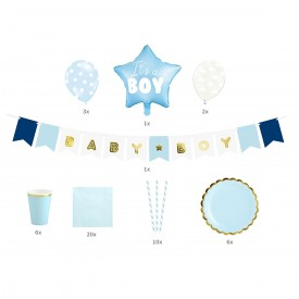 "BOX ""BABY SHOWER"" - BLEU"