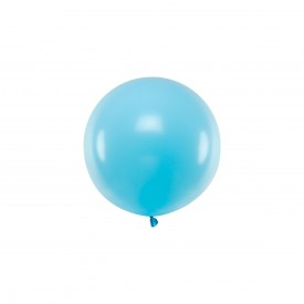 LATEX MEDIUM BALLOON - PASTEL BLUE