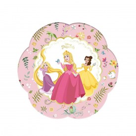 4 PLATES - DISNEY PRINCESS