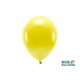 ECO LATEX BALLOON - LIGHT YELLOW