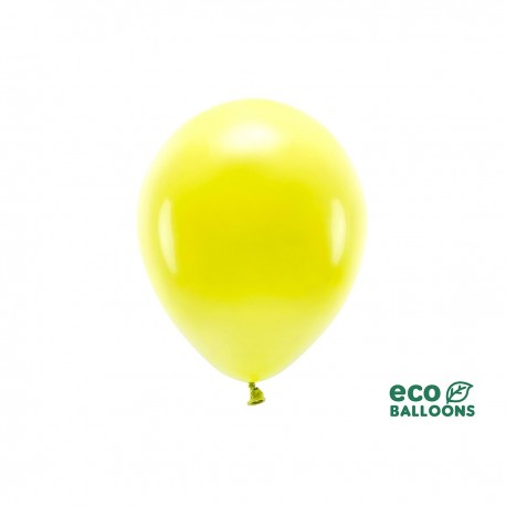 ECO LATEX BALLOON - YELLOW