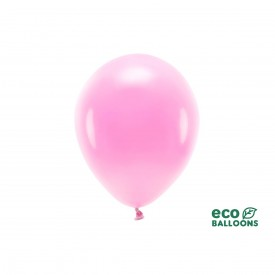 BALLON DE BAUDRUCHE ECO RESPONSABLE - ROSE