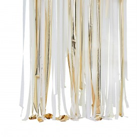 BACKDROP KIT - WHITE AND GOLD