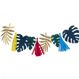 PALM LEAVES GARLAND – MULTICOLORE
