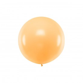 GIANT LATEX BALLOON - PEACH