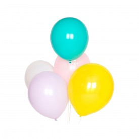 10 LATEX BALLOONS – PASTEL