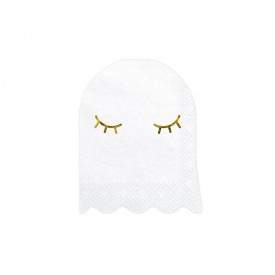 20 GHOST NAPKINS