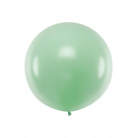 GIANT LATEX BALLOON - PISTACHIO