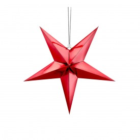 HANGING STAR – RED