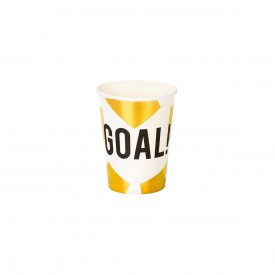 "12 CUPS ""GOAL""- GOLD"