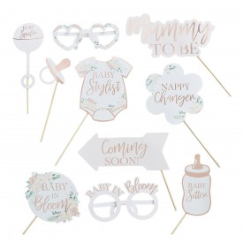 PHOTOBOOTH ACCESSORIES – BABY IN BLOOM