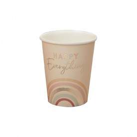 """8 """"HAPPY EVERYTHING""""CUPS - PASTEL"""