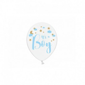 "6 ""IT'S A BOY"" BALLOONS"