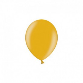 LATEX BALLOONS – METALLIC GOLD