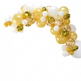 BALLOON ARCH – GOLD
