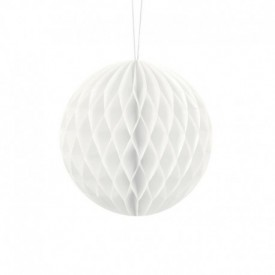 HONEYCOMB BALL – WHITE
