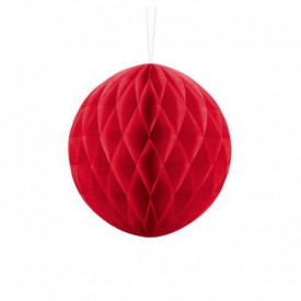HONEYCOMB BALL – RED