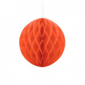 HONEYCOMB BALL – ORANGE